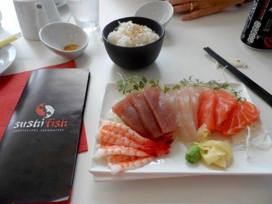 Sushifish : Sashimis