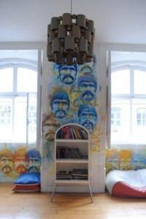 Lisbon Lounge Hostel: spazio comune