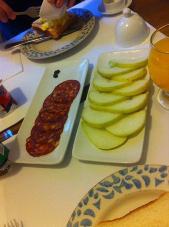 Vilafranca Petit Hotel: Café da manhã