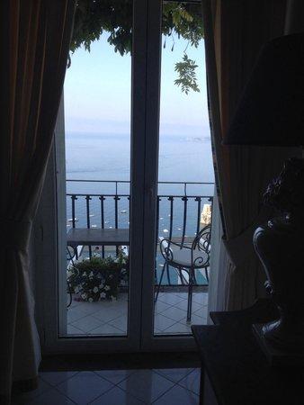 Hotel Villa Franca: Balconcino e vista