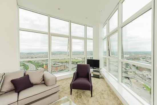 Apple Apartments Belfast: View From Apartment