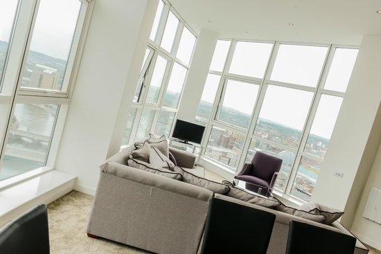 Apple Apartments Belfast: Apartment View