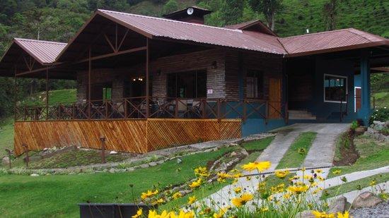 Boquete Tree Trek Mountain Resort: Otra toma de nuestra terraza