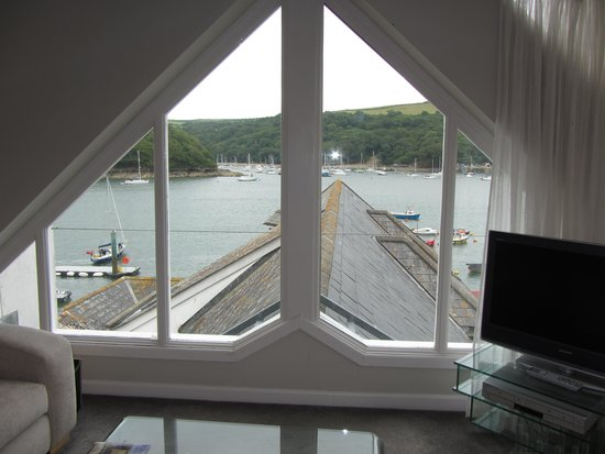 The Old Quay House Hotel : penthouse view