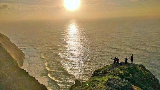 Bikulture: Enjoying a magical sunset