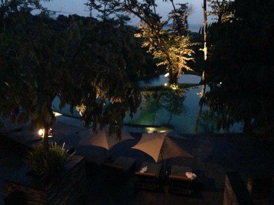 Capella Singapore: swimming pool