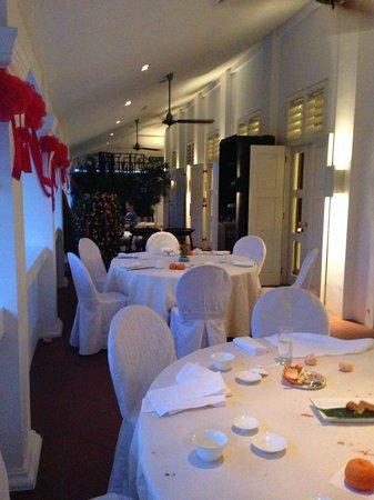 Capella Singapore: CNY dinner