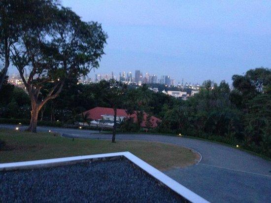 Capella Singapore: resort on hill