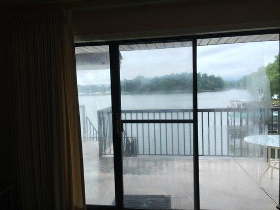 Emerald Isle Resort : View from inside condo