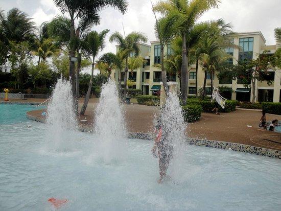Aquatika Beach Resort: La piscina de niños