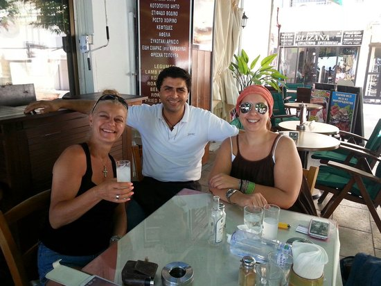 Christos Grill & Seafood: With friends from nicosia