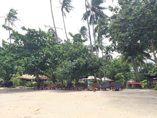 Klong Kloi Cottage: Beach front