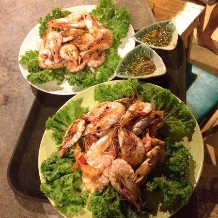 Klong Kloi Cottage: B.B.Q. Shrimps
