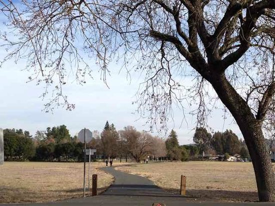 Sonoma Plaza : Path near Vallejo's House