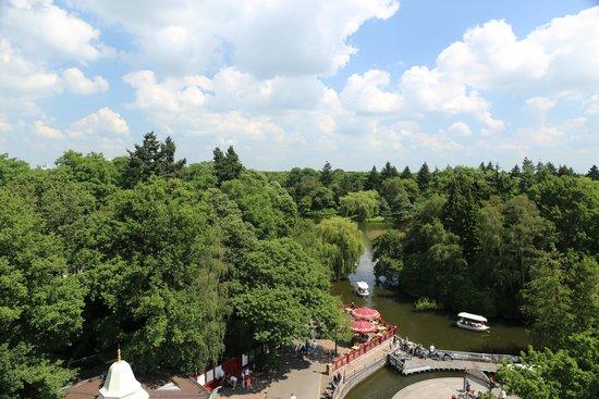 Efteling: Interno del parco visto dall'alto