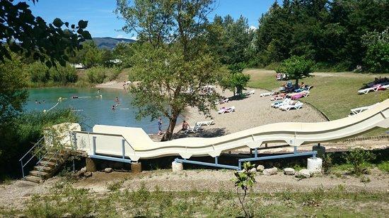 Camping Domaine des Iscles : la plage