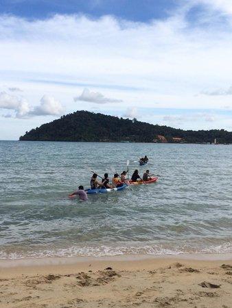 Klong Kloi Cottage: Enjoy with kayaking
