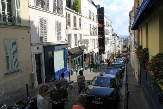 Montmartre: Plenty of stairs