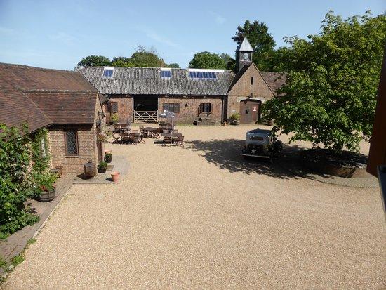 Crockstead Farm Hotel : Inner Courtyard