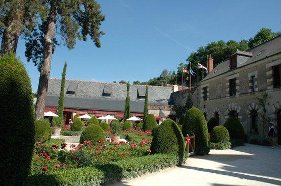 Le Chateau du Clos Luce - Parc Leonardo da Vinci: The courtyard