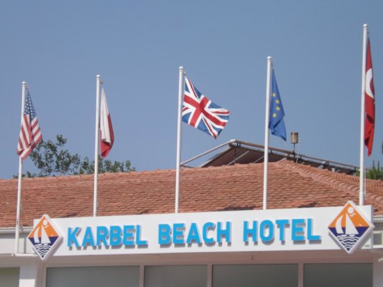 Karbel Beach Hotel: Outside the Hotel