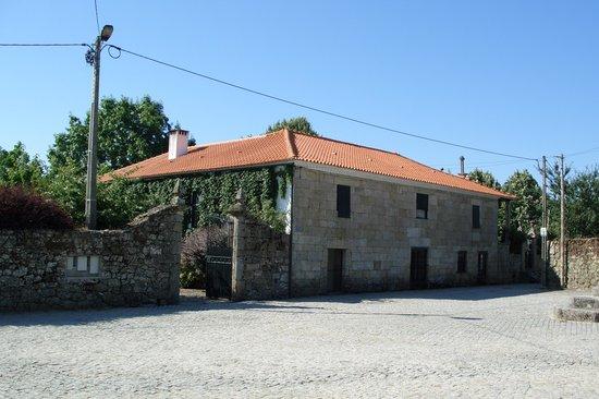 Casa de Santo Antonio de Britiande: fachada exterior