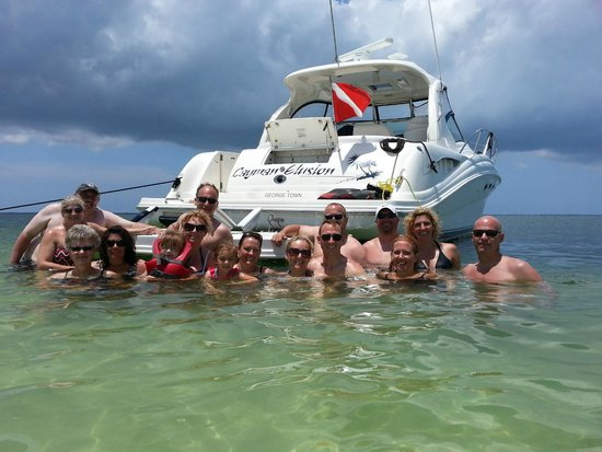 Cayman Luxury Charters Ltd.: Day in Grand Cayman with friends