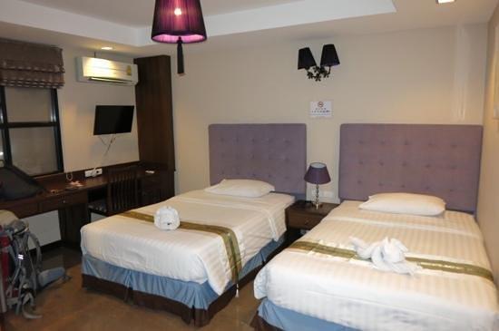 Our room at 'At Home at Chiang Mai'