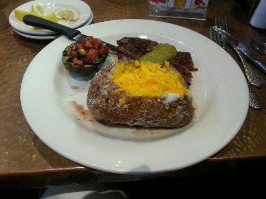 Copper Creek Restaurant : Steak cuts