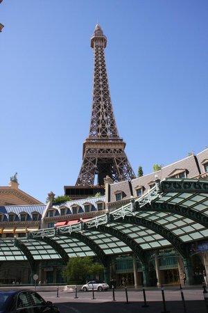 Paris Las Vegas : Vista externa do hotel