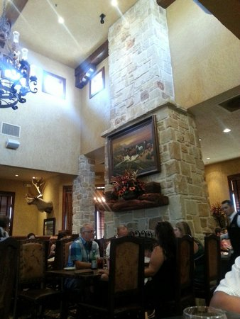 Copper Creek Restaurant : Dining room