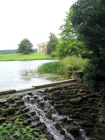 Sherborne Castle : view from the grounds