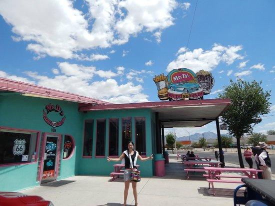 Mr. D'z Route 66 Diner: L'entrée
