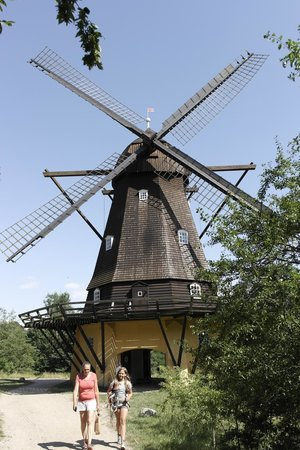The Open Air Museum: 18th century wind turbine?...