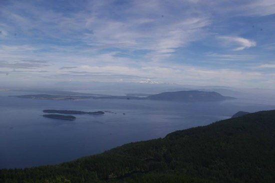 Moran State Park: view from Mt Constitution
