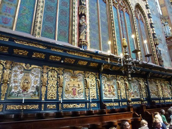 Basilique Sainte-Marie : Il Presbiterio