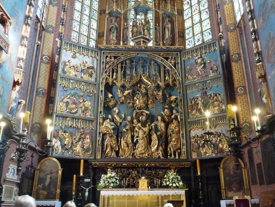 Basilique Sainte-Marie : il bellissimo altare