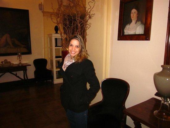Hotel Adriano: Segunda sala do hotel - sala de espera/leitura