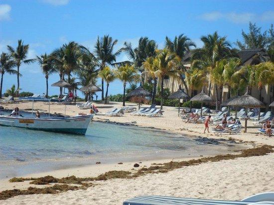 Canonnier Beachcomber Golf Resort & Spa: PLAGE