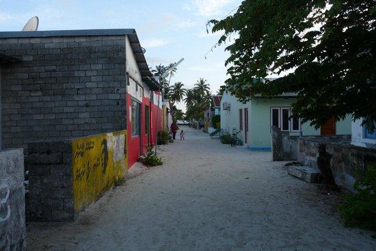 Maldive Due Palme: L'isola
