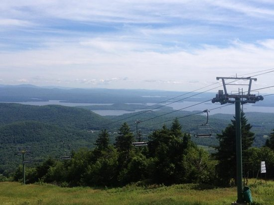 Gunstock Mountain Resort : July view on the lift