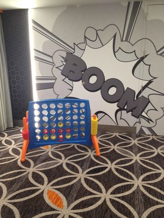 The Curtis Denver - a DoubleTree by Hilton Hotel: Play a Game While Waiting for Next Meeting