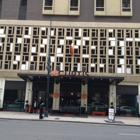 The Curtis Denver - a DoubleTree by Hilton Hotel: Doesn't Look Like Much from the Outside, BUT...