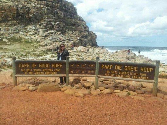 Cape of Good Hope: aceso pela praia