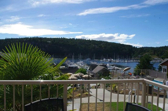 WorldMark Deer Harbor : view from cottage 113