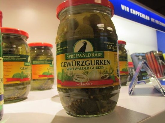 DDR Museum : Famous East Germany pickles