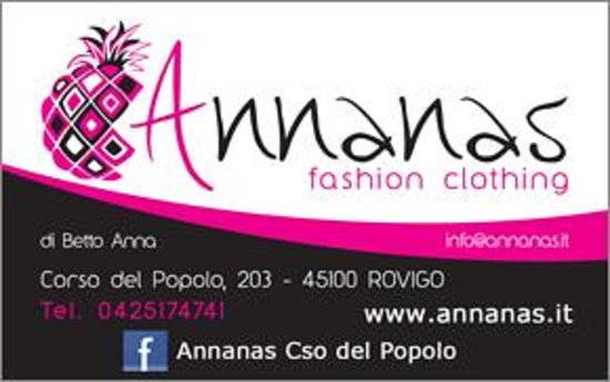 Annanas Fashion Clothing