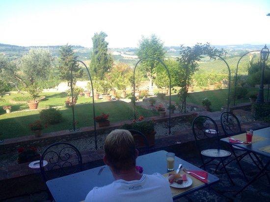 Villa Talente: Breakfast