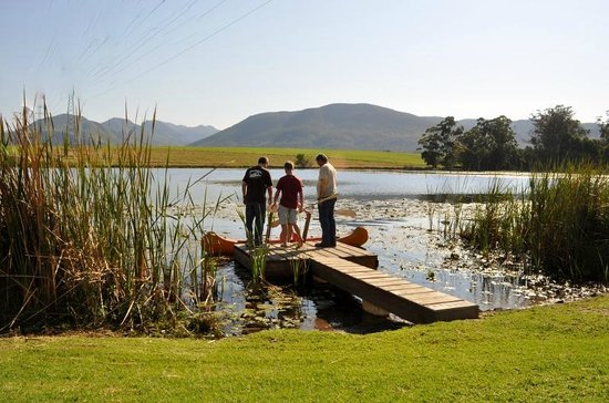7 Passes Tented Camp : The jetty