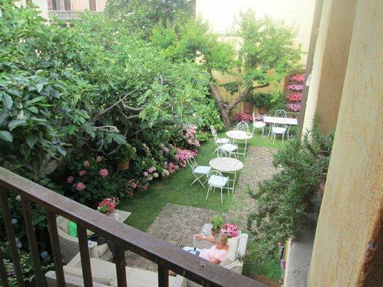 Il Relais della Locanda: Beautiful courtyard